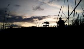 パプア州のTELETUBIES丘