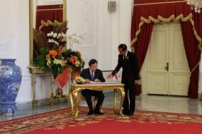 大統領は韓国首相と4つの話題を話し合った