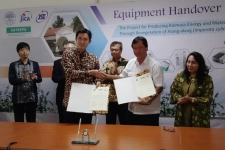 LIPIと日本は協力して、代替エネルギーのためのソルガム植物を研究