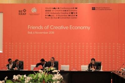 2018年世界创意经济会议协定为创意经济的巴厘议程