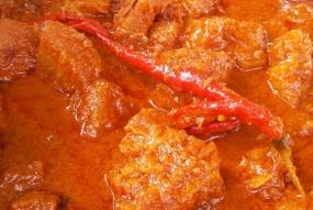 Pacri Nanas,Melayu 社会典型的烹饪