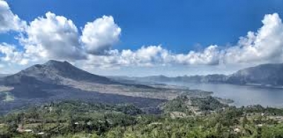Bali, Kintamani, Batur 的地质公园博物馆