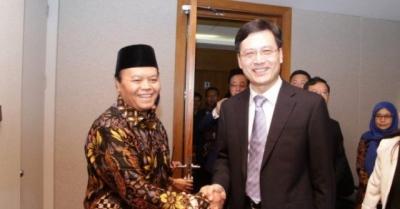 印尼人民协商会议与中国政治协商会议会谈