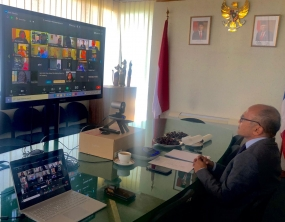 印尼驻马赛即总领事馆在大流行中仍促进了印度尼西亚