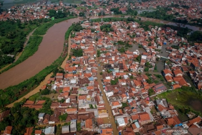 Flood Affects 40,844 Residents in West Java's Bandung District
