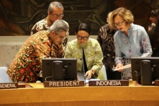 Indonesia Expounds Three Key Measures in Tackling Palestinian Issues