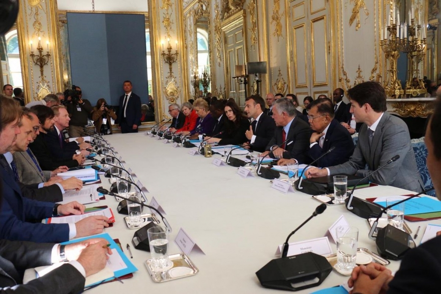 Meeting Christchurch Call for Action in Paris, France (15/5).