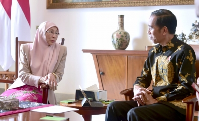 Meeting with DPM of Malaysia in Bogor Palace