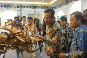 Sultan Hamengkubuwono X Opens Jogja International Furniture and Craft Fair Indonesia-JIFFINA 2018