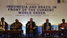 Brazil Says It Is Ready  to Improve Bilateral Cooperation with Indonesia