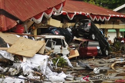 Japanese Minister and Foreign Representatives in Indonesia Offer Condolences to Donggala Quake Victims