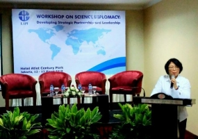 Deputy of social and Humanity Science of LIPI, Tri Nuke Pudjiastuti