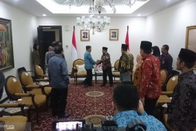 Vice President Jusuf Kalla Meeting with MUI delegates