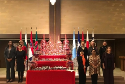 Indonesia encourages women to become agents of peace and tolerance The 5th World Assembly for Women (WAW!) in Tokyo, Japan, March 25, 2019