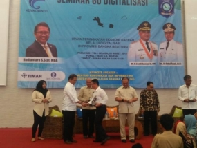 "Rudiantara Attends ""Go Digitalization"" Seminar"