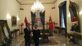 Indonesia and Timor Leste on Bilateral Discussion