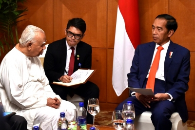 President Jokowi Wants to Increase Economic Cooperation With Sri Lanka