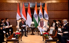 Meeting with Indian PM Modi, Indonesian President Joko Widodo Wants to Improve Economic Cooperation