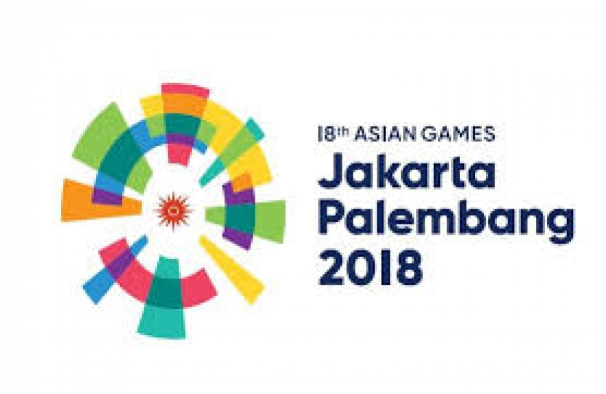 logo of Asian Games 2018