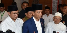 President Joko Widodo Discusses Regional and Presidential Elections with Chairmen of Political Parties