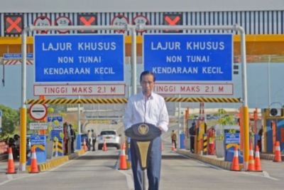 Jokowi Optimistic Trans Java Toll Road Fully Completed in 2019