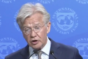 Spokesman of the International Monetary Fund (IMF) Gerry Rice