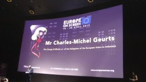 Remarks by Charge de Affairs European Union at Europe On Screen 19 April 2019