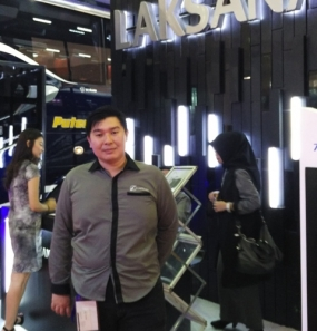 Laksana's Export Manager, Werry Yulianto