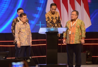 President Joko Widodo on the opening the Forum of National Planning in Jakarta