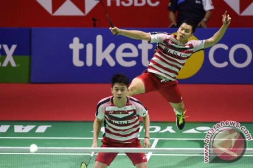 Kevin/Marcus Wins Indonesia Open Champion