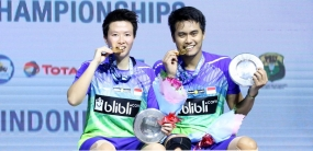 Indonesian Double Mix Win Indonesia Open 2018