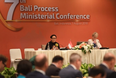 Indonesia and Australia Co Chair 7th Bali Process Ministerial Conference
