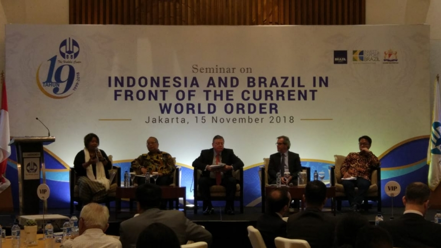 Darianto Harsono, Deputy Director II of the Directorate of American II, Directorate General of American and European Cooperation, Indonesian Ministry of Foreign Affairs