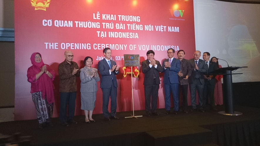 Voice of Vietnam Opens Its Representative Office in Jakarta