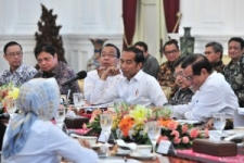Limited Cabinet Meetings Discuss Results of Jokowi's State Visit to Saudi Arabia