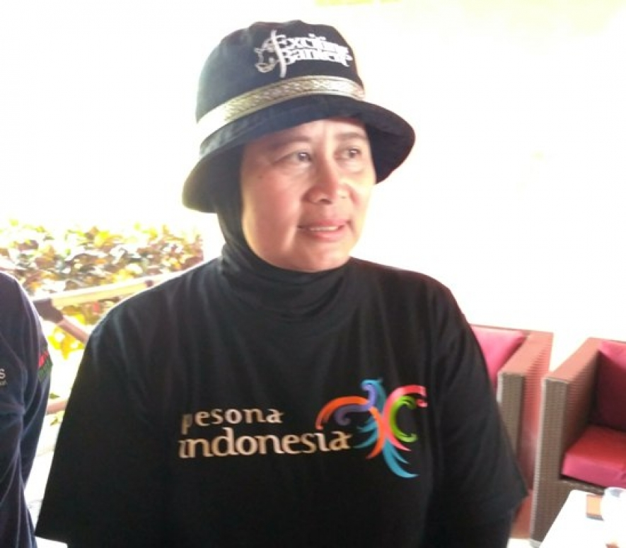 Head of Banten Provincial Tourism Office, Eneng Nurcahyati
