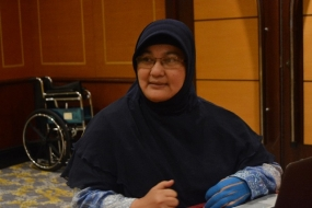 Head of Pulmonary Infection Division and Head of Indonesia Society of Respirology of Jakarta branch DR. Erlina Burhan