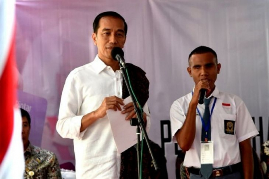President Joko Widodo in an event some months ago