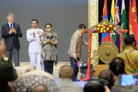 VP Jusuf Kalla opened the conference