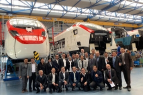 The Swiss train manufacturing company Stadler Rail signed an investment agreement with Indonesian train manufacturing company PT INKA in the form of a joint venture to establish a train factory in Banyuwangi, East Java.