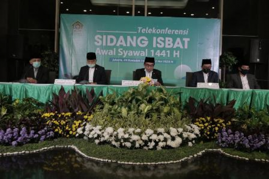 Minister of Religious Affairs Fachrul Razi, announces the 1st Shawwal 1441 H, Friday (22/05/2020)