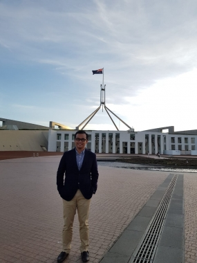 Fakhrido Susilo, Member of the Indonesian Overseas Election Committee in Canberra, Australia