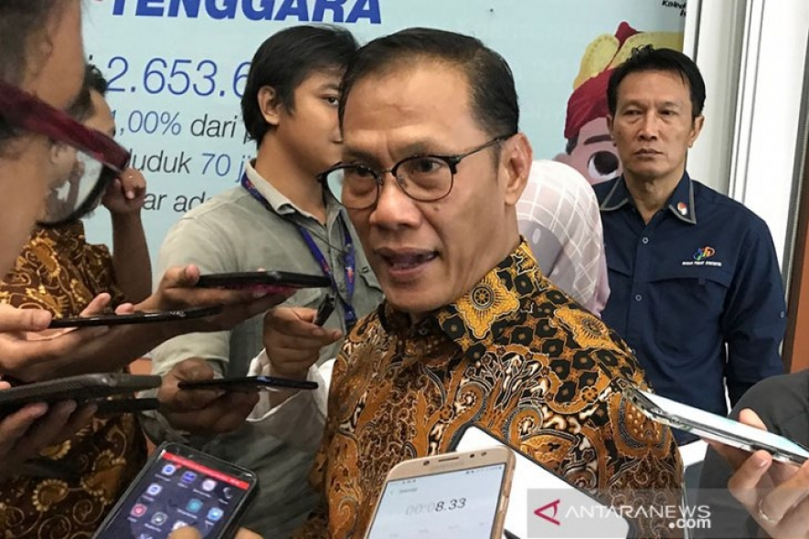 Indonesia's inflation under control, at 0.10 percent in March 2020 Head of the Central Bureau of Statistics (BPS) Suhariyanto.