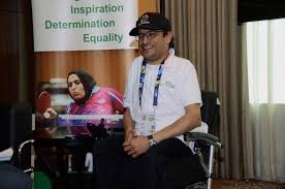 Asian Paralympic Committee (APC) President Majid Rashed