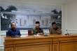 Vice President Ma'ruf Amin held a press conference at the Vice Presidential Palace in Jakarta, Wednesday (8/1/2020)