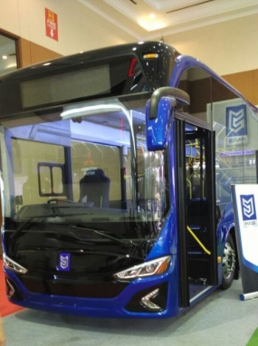 Electric Bus produced by MAB