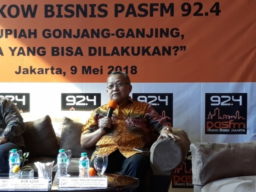Head of Center for Economic and Policy Studies of Gadjah Mada University (UGM), Tony Prasetiantono
