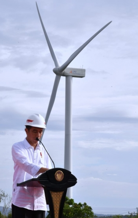 First Winds Power Plant in Indonesia