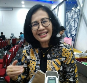 Researcher on Gender of Indonesian Institute of Sciences (LIPI) Nani Grace Simamora