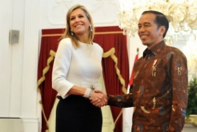 President Jokowi & Queen Maxima Discuss Financial Inclusion